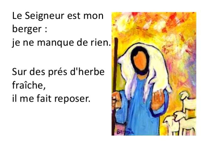 Psaume 22 (23) - Paroisses d'Enghien - Saint Gratien, Saint Ferdinand  d'Argenteuil et Saint Paul des Raguenets