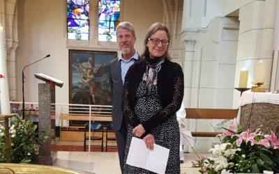 Action de grâce d'Anne et Jean-Pierre Haimart