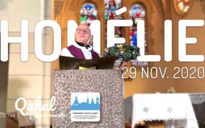 Homélie du dimanche 29 novembre 2020