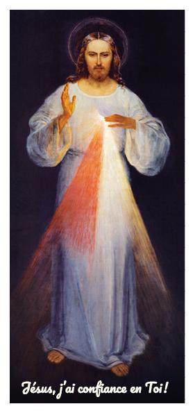 Je Te salue, très miséricordieux Cœur de Jésus.
