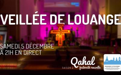 Radio Qahal : Veillée de louange en direct le 5 décembre 2020 à 21 heures