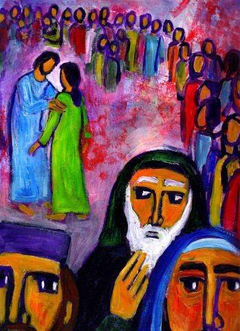 Berna, Jésus sauve la femme adultère.