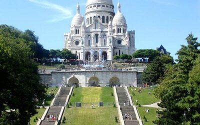 Retraite de première communion à Montmartre.